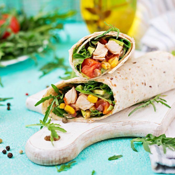 Slasten burrito v skledi – Recept