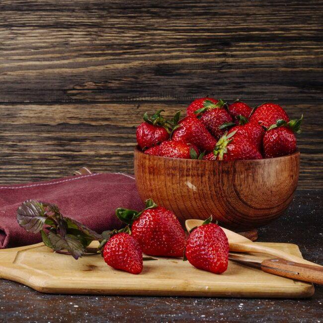 Recept za okusno pecivo z jagodami