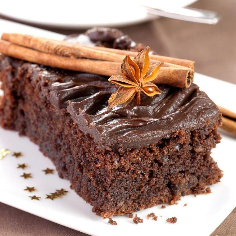 Recept za čokoladno pogačo s cimetom