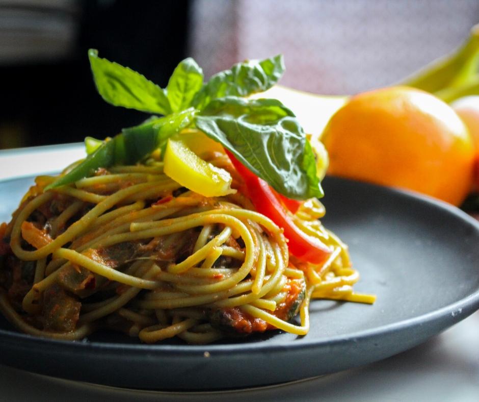 Recept za odlične špagete z zelenjavo