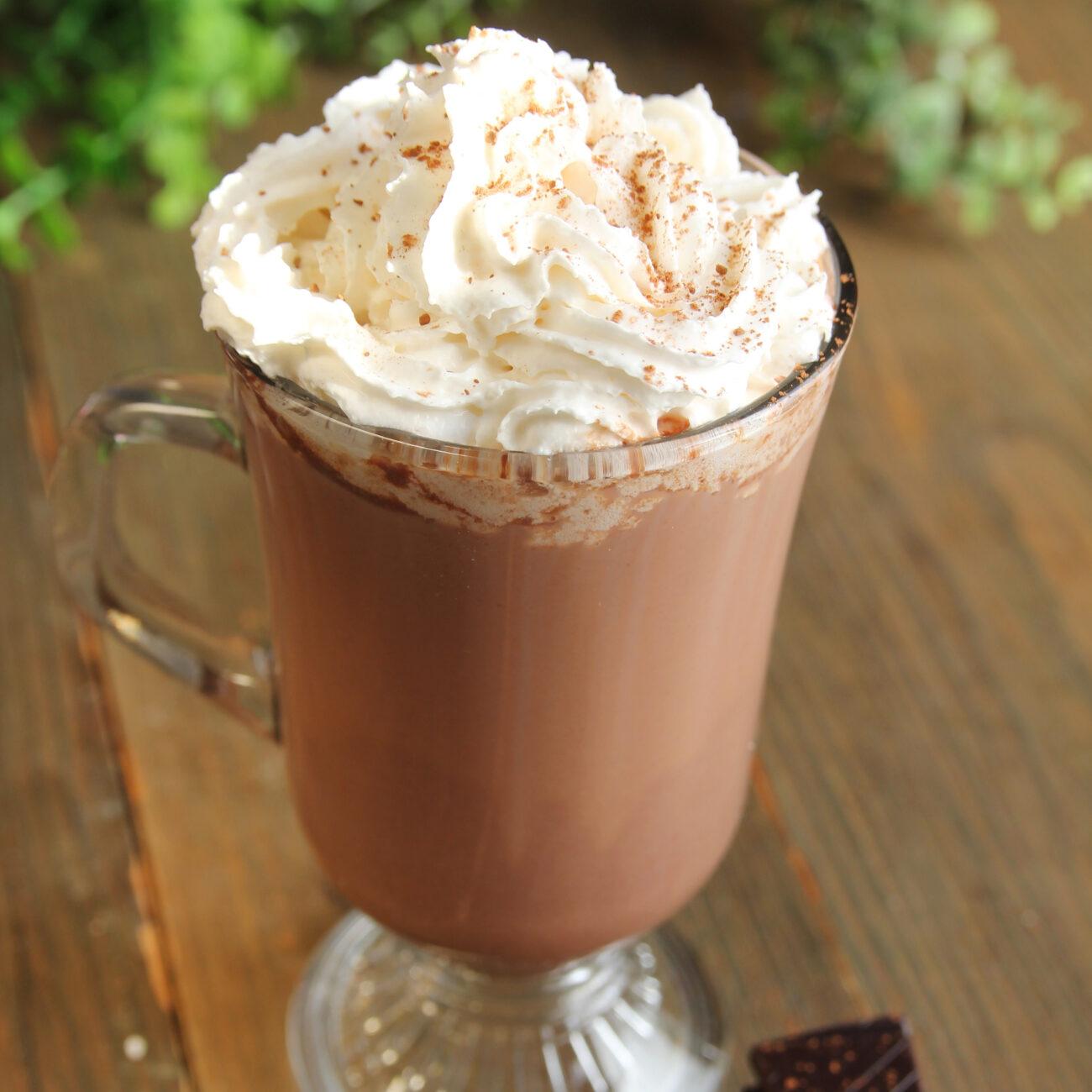 Zdrava vroča čokolada
