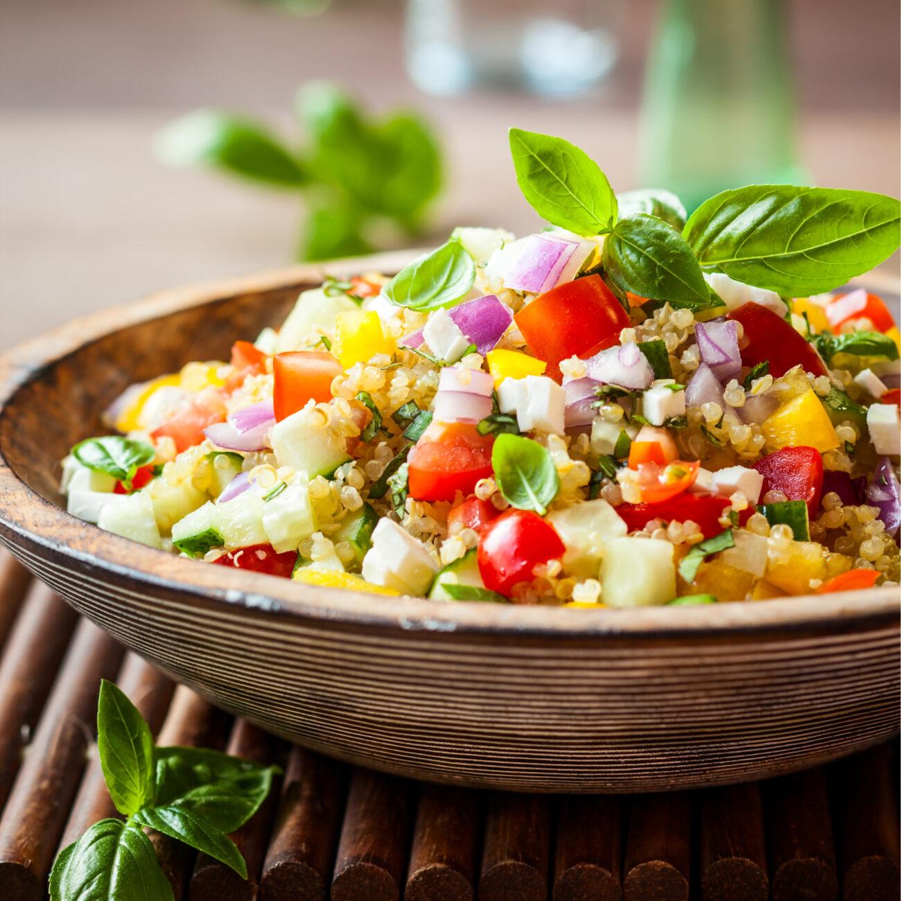 Kvinojina solata