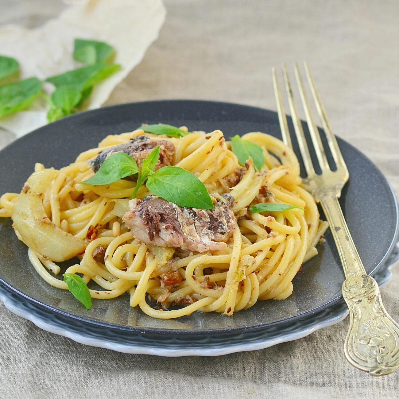 Špageti s sardinami